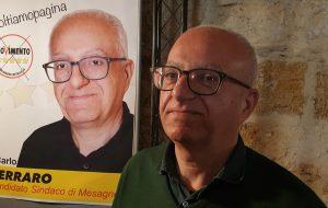 Carlo Ferraro e i Candidati al Consiglio Comunale per il  Movimento Cinque Stelle si sono presentati alla Città