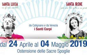 Erchie: in arrivo le spoglie di Santa Lucia e Sant'Irene. Martedì 16 la presentazione dell'evento