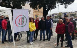 """Grande partecipazione alla manifestazione della coalizione """"Mesagne in comune"""""""