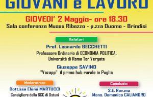 Giovani e lavoro, buone pratiche e prospettive: se ne parla giovedì 2 con il prof. Leonardo Vecchetti e Giuseppe Savino