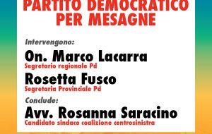 Le idee del PD per Mesagne: oggi assemblea pubblica con la candidata Sindaco Rosanna Saracino