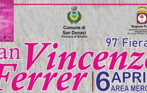 Torna a San Donaci la Fiera di San Vincenzo Ferrer