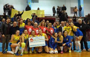 Mesagne Volley: arriva la salvezza matematica