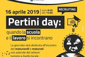 Pertini Day: il 16 Aprile si incontrano scuola e lavoro