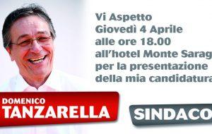 Domani si presenta la candidatura dell'avvocato Domenico Tanzarella a Sindaco della città di Ostuni