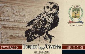 Tutto pronto per la XIX edizione del Torneo della Civetta: appuntamento sabato 22 a Tuturano