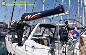 Documenti e bandiere false per truffare l'Iva: sequestrate tre barche a vela
