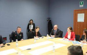 Visita di una delegazione della Commissione Affari esteri e comunitari della Camera dei Deputati alle Nazioni Unite a Brindisi