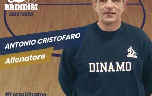 La Dinamo Brindisi conferma coach Antonio Cristofaro