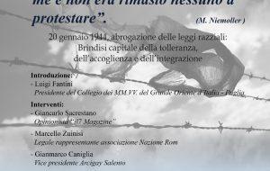 """Brindisi Capitale della tolleranza, dell'accoglienza e dell'integrazione: se ne parla il 1 Giugno a Brindisi in un convegno organizzato dall'associazione """"R.L. Regina Viarum"""""""