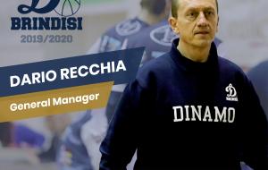 Dario Recchia confermato General Manager della Dinamo Basket Brindisi