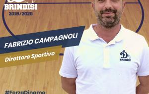 Fabrizio Campagnoli confermato Direttore Sportivo della Dinamo Basket Brindisi