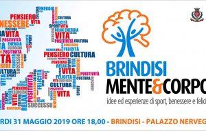 Brindisi Mente&Corpo: il 31 Maggio a Brindisi arbitri, tecnici ed esperti raccontano idee ed esperienze di Sport, Benessere e Felicità