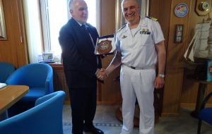 Il Direttore Generale del Ministero delle Infrastrutture e dei Trasporti visita la Capitaneria di Porto di Brindisi
