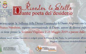 A riveder le stelle: Sabato 25 lettura di Dante alla Scalinata Virgiliana