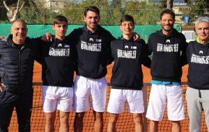 Tennis, playout serie C: il CT Brindisi supera Calimera e centra l'obiettivo salvezza