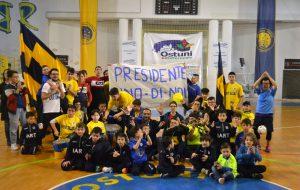L'Olympique Ostuni dilaga e tocca la Serie B con un dito