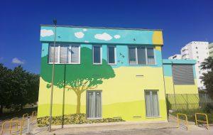 Street art sulla Palazzina della Radioterapia: elogio della Direzione Generale