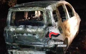Inseguimento notturno tra Carabinieri e quattro ladri su due auto: una bruciata, l'altra abbandonata nelle campagne