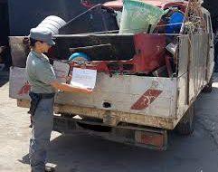 Trasporto abusivo di rifiuti da cantiere edile: i Carabinieri Forestali sequestrano autocarro