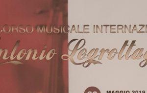 """Ottima performance di Ilaria Brigida al Concorso musicale internazionale """"Antonio Legrottaglie"""""""
