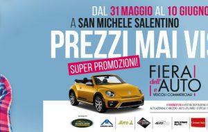 Tutto pronto per l'edizione 2019 della Fiera dell'Auto di San Michele Salentino