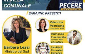 Il Movimento 5 Stelle di Ostuni organizza un incontro con il Ministro Barbara Lezzi