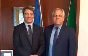 Il Presidente Marcucci incontra il Questore Rossi