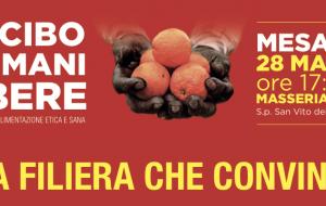 Mi cibo da mani libere: a Mesagne incontro sulla filiera agroalimentare all'insegna della legalità