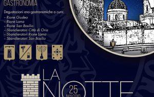 """Oria: Torna la """"Notte dell'imperatore"""" tra rievocazioni storiche, cultura ed enogastronomia"""