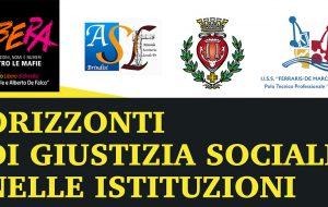 """""""Orizzonti di giustizia sociale nelle istituzioni – Percorsi di legalità, trasparenza e prevenzione della corruzione"""