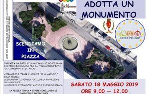 Adotta un Monumento: il Liceo Palumbo adotta Piazza del Salento