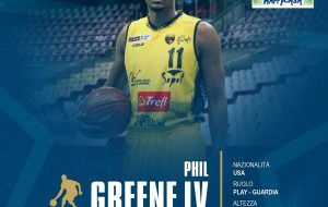 La Happy Casa Brindisi ingaggia il play/guardia Usa Phil Greene IV