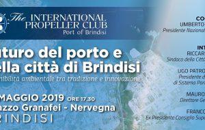"""Propeller a convegno su """"FUTURI del porto e della città di Brindisi, sostenibilità ambientale tra tradizione e innovazione"""""""