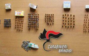 289 proiettili nascosti nella cassetta del contatore di un condominio popolare