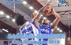 Terzo tempo web: il video di gara2 Sassari Brindisi
