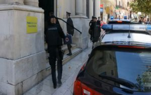 I 350mila euro sequestrati alla famiglia Bruno trasferiti negli uffici postali
