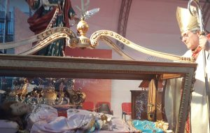 Erchie: oggi l'ultimo saluto a Santa Luca e Sant'Irenee