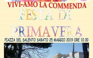 Vivi-Amo la Commenda: sabato 25 Festa di Quartiere in Piazza del Salento