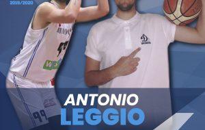 La Dinamo Brindisi riparte dal suo centro: Antonio Leggio firma un biennale
