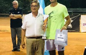 "All'argentino Bahamonde il XIX Memorial ""Alberto Guarini"" di tennis"
