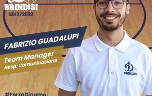 Fabrizio Guadalupi è il nuovo Team Manager e Responsabile Comunicazione della Dinamo Basket Brindisi
