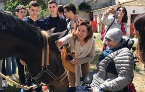 Una magia al Circolo Ippico di Mitrano. Di Guido Giampietro