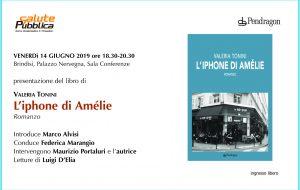 """Venerdì 14 a Palazzo Nervegna si presenta """"L'Iphone di Amelie"""""""