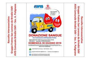 Domani raccolta sangue presso la Parrocchia Cristo Salvatore al Quartiere Sant'Elia