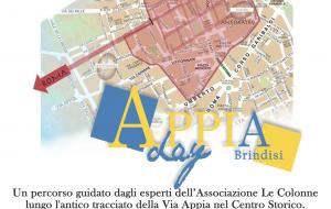 Appia Day Brindisi: 14-15-16 Giugno Tour Guidato sulle Tracce della Via Appia nel Centro Storico di Brindisi