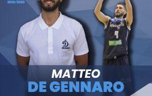 La Dinamo Brindisi riconferma Matteo De Gennaro