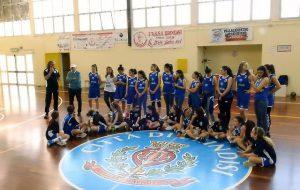 Polisportiva Bozzano: grande festa per le campionesse regionali Under 14