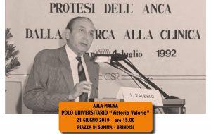 Ricordando il Prof Valerio: oggi al Di Summa il ricordo degli amici della Orto-riabilitazione