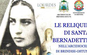 Da Lourdes a Brindisi le Reliquie di Santa Bernadette